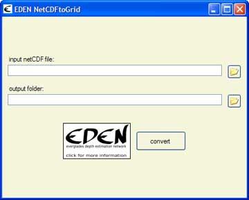 NetCDFtoGrid Tool - Everglades Depth Estimation Network (EDEN)